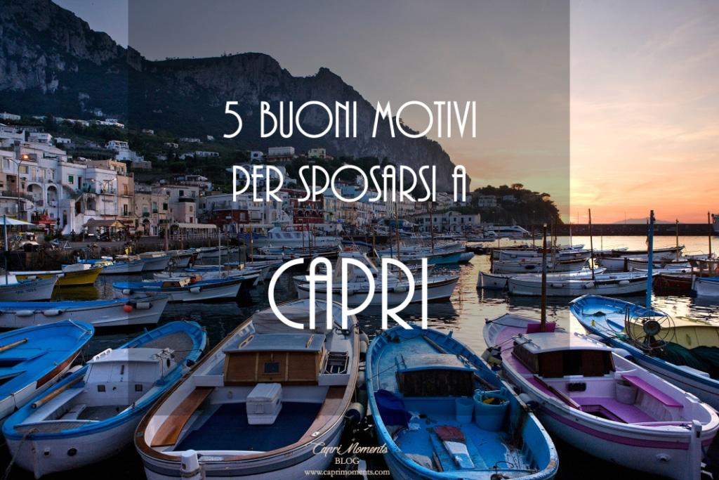 Nozze a Capri