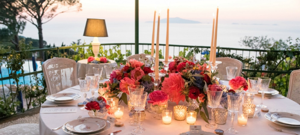 Get inpired by our real weddings on the island of Capri and Amalfi Coast