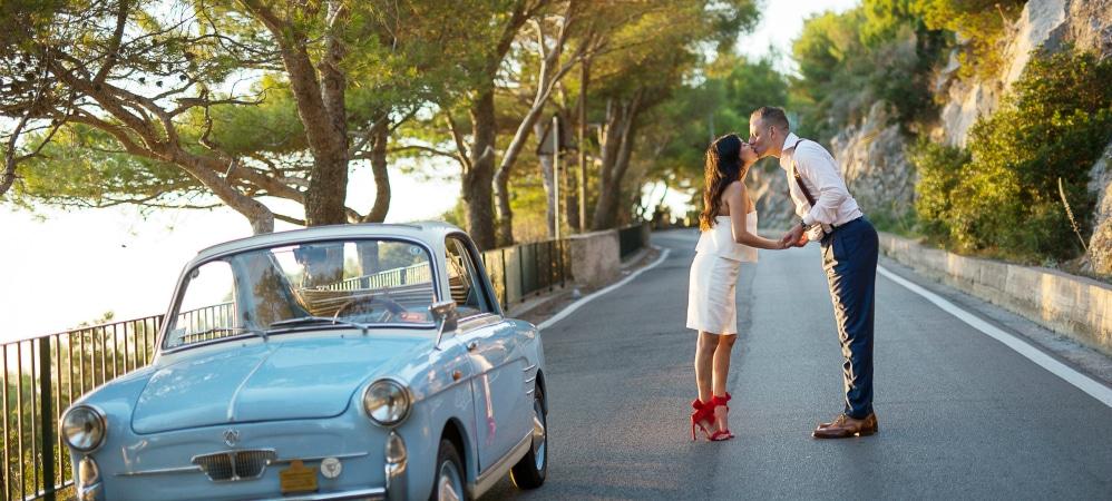 Proposta di matrimonio a Capri
