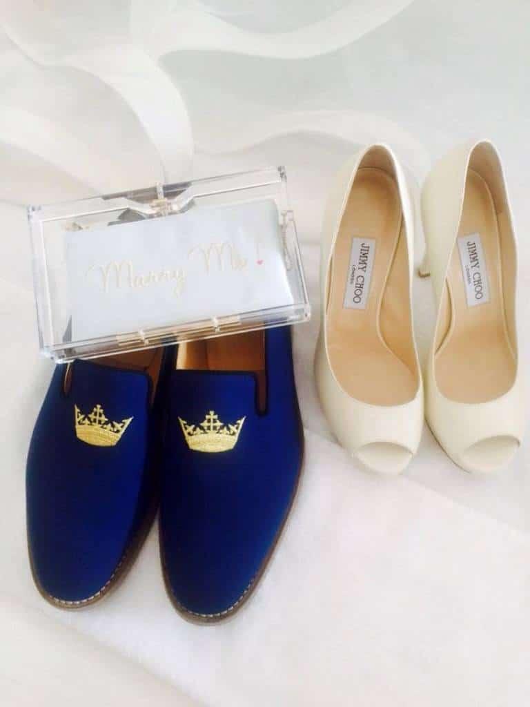 Le scarpe degli sposi