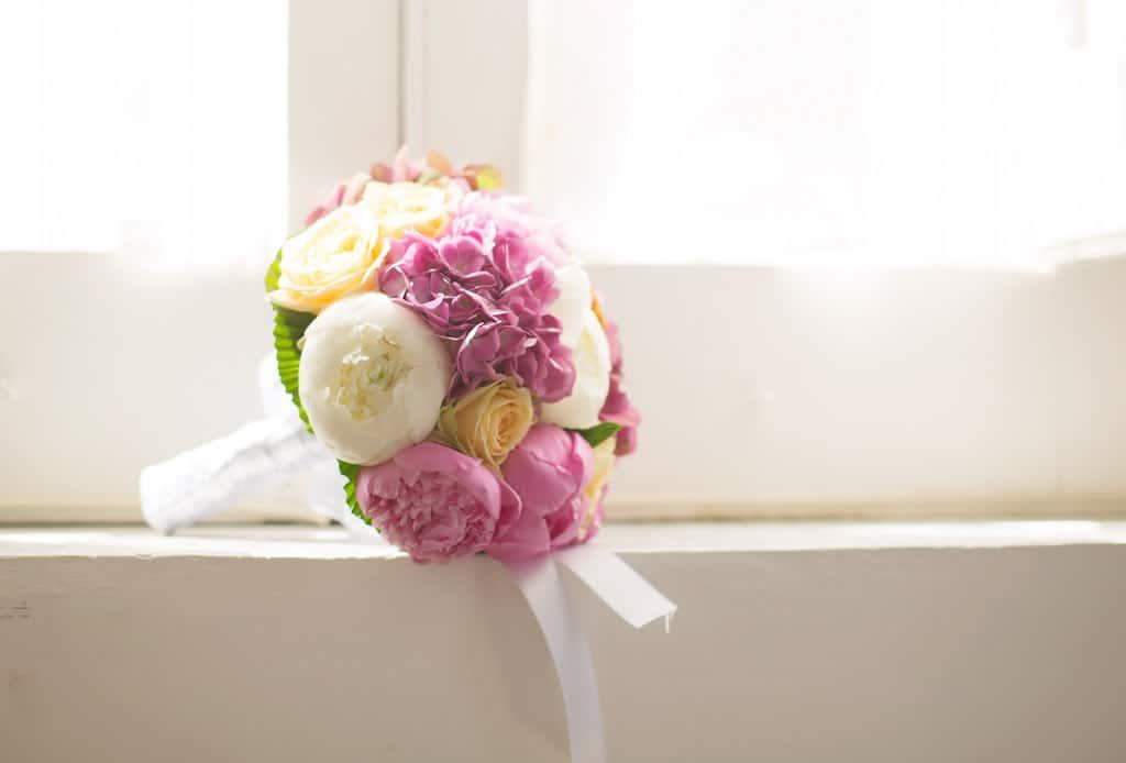 Studio allestimento floreale matrimonio a Capri