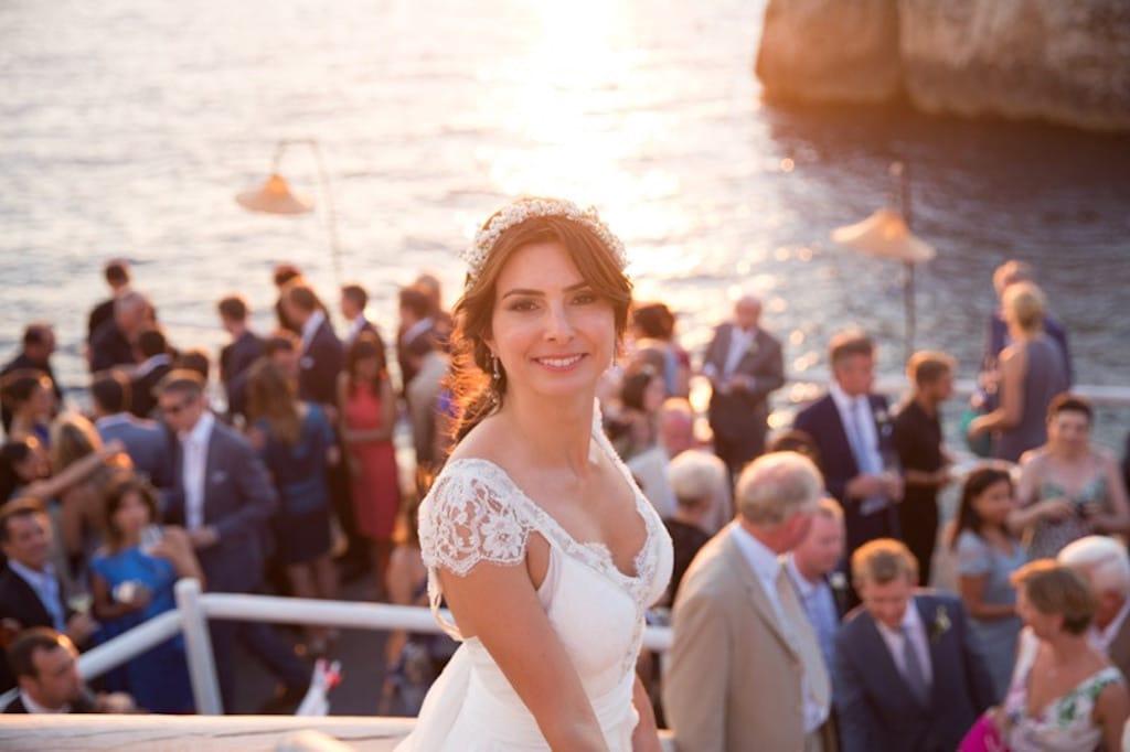 Capri bride