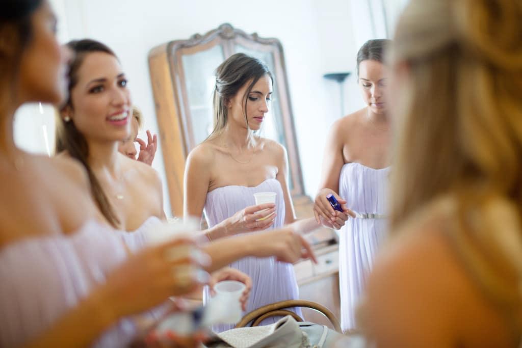 Preparativi sposa Castello Giusso a Vico Equense