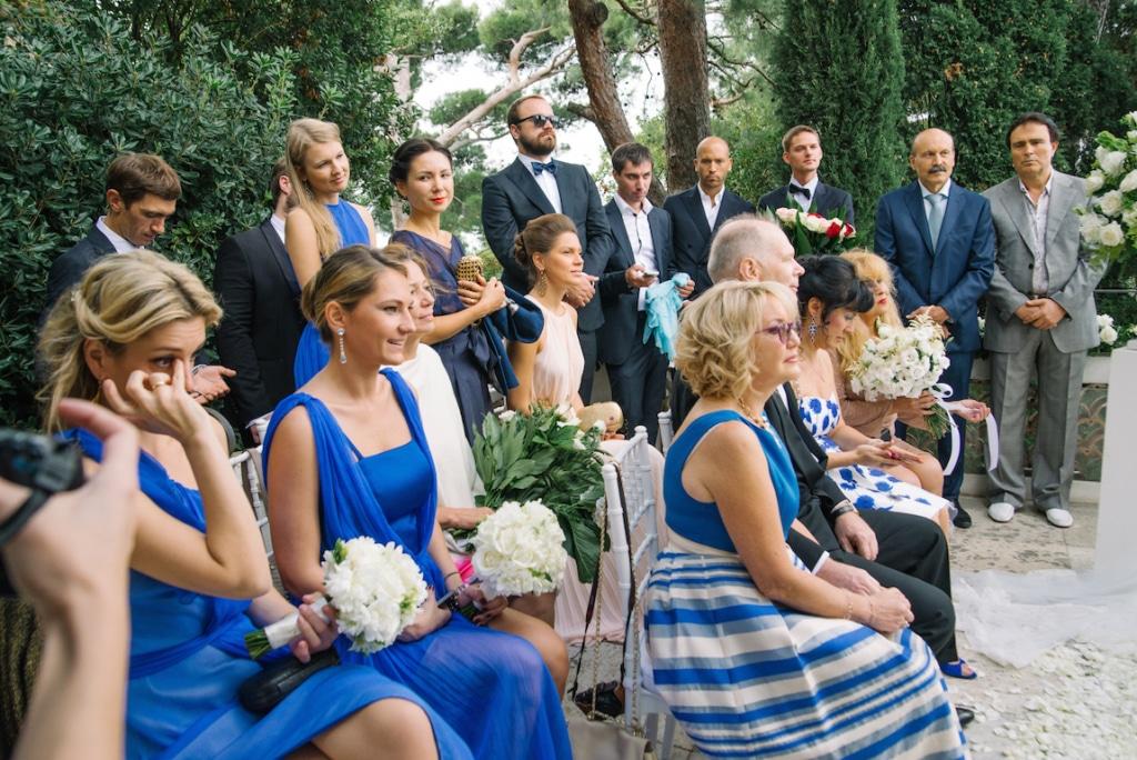 cerimonia in villa a capri