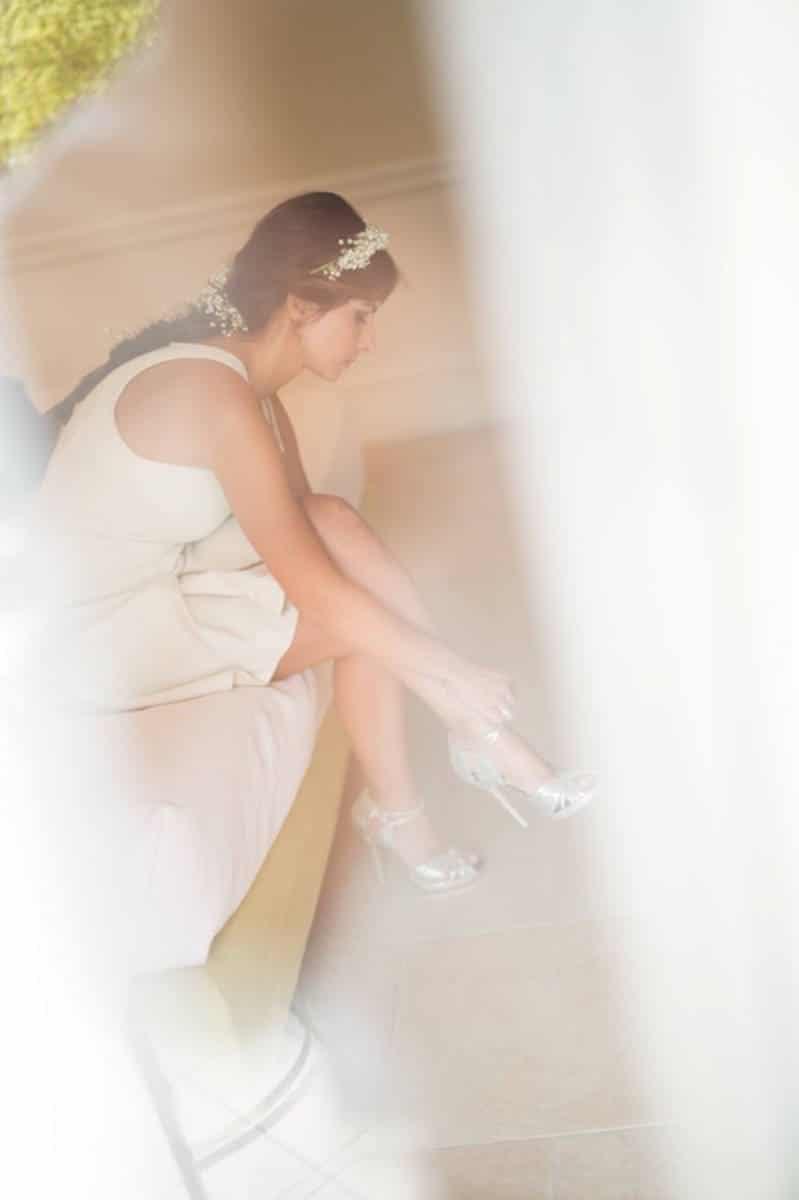 la sposa si prepara