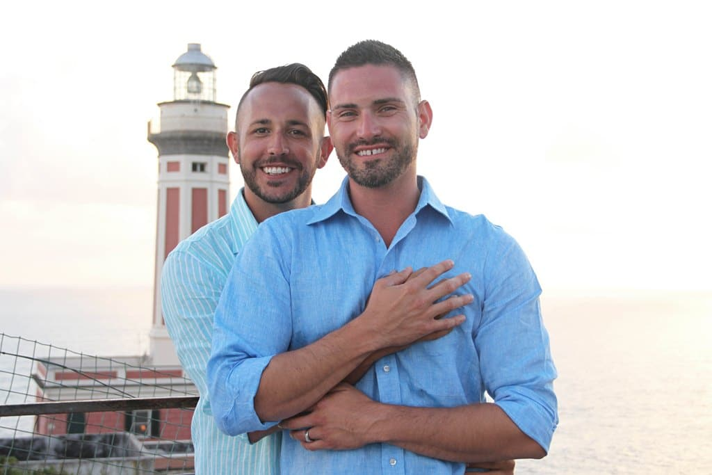 Proposta di matrimonio gay a Capri