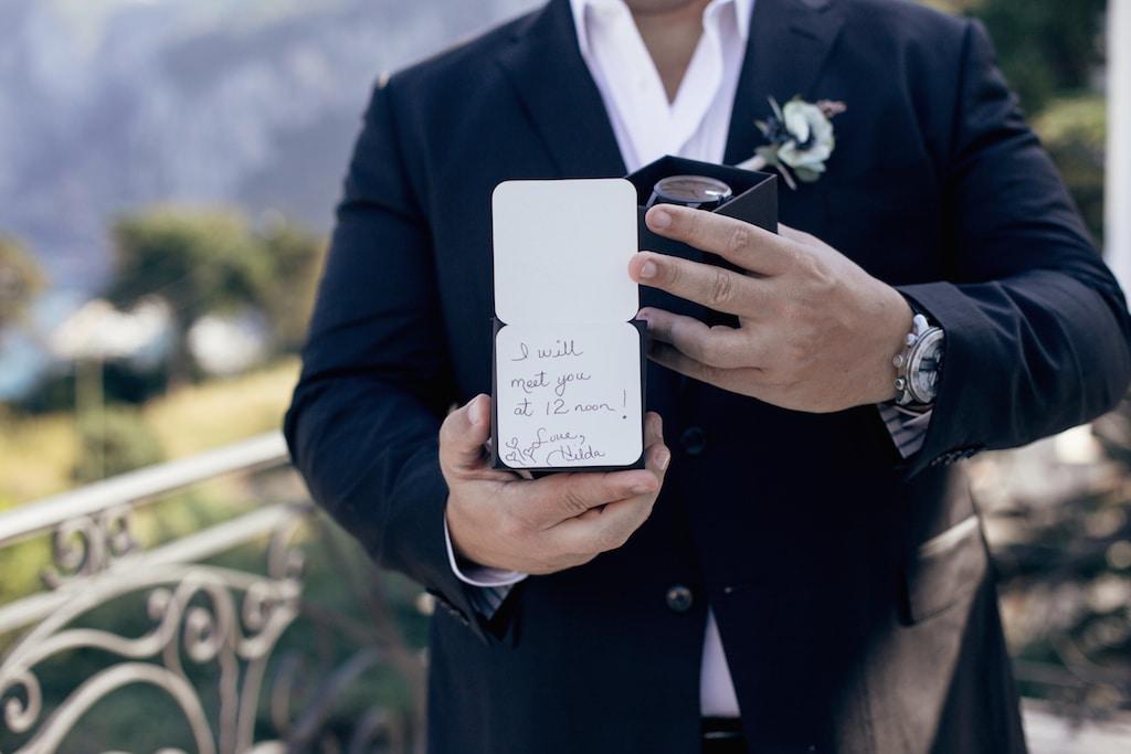 Orologio per lo sposo