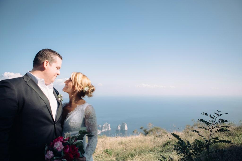 Romantic elopement in Italy