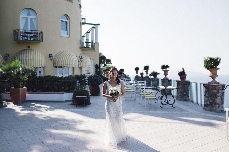 Hotel con terrazza vista mare