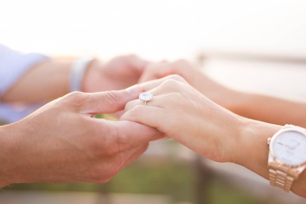 Originale proposta di matrimonio