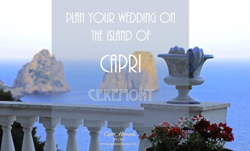 What's the cost of getting married on Capri island