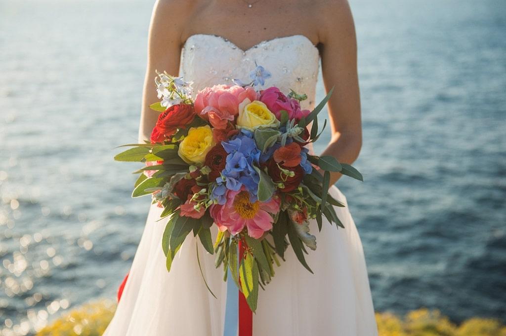 Bouquet Sposa Colorato.Bouquet Colorato