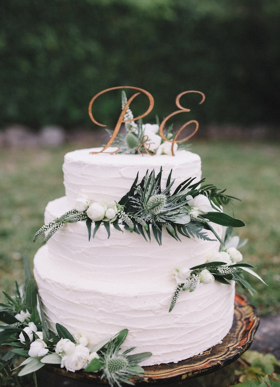 Details and Inspirations of real weddings by Capri Moments - Wedding cake