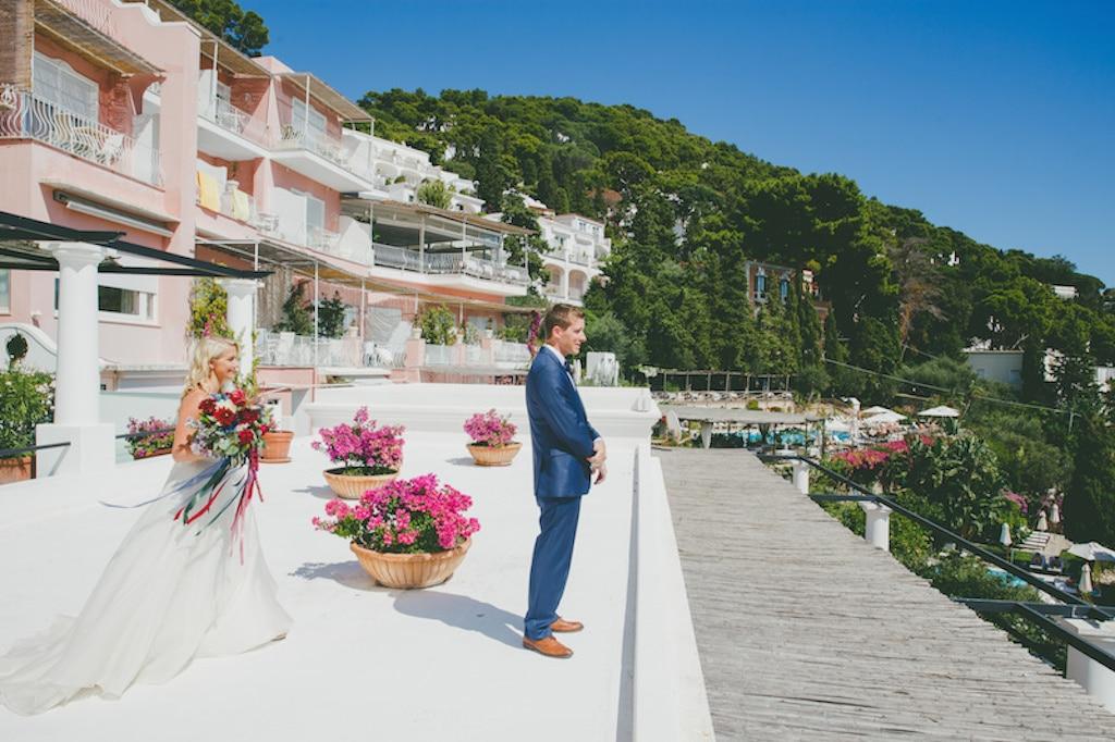 Nicole & Jacob - Lo sposo attende la sposa