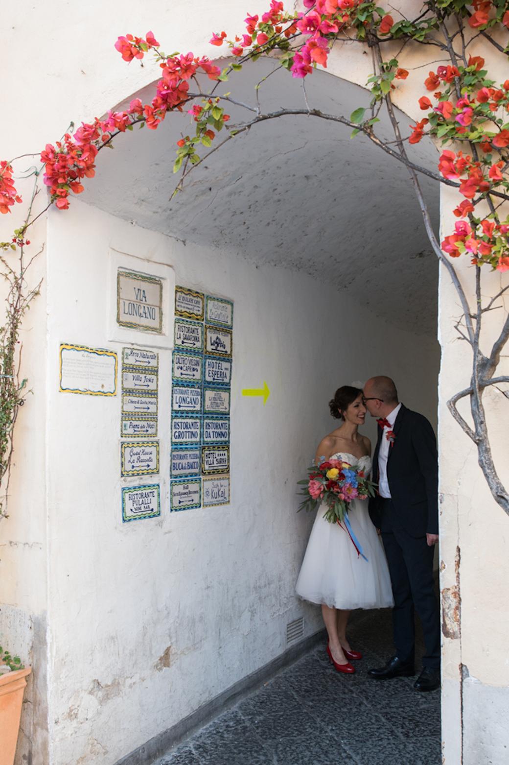 Intimate & Colorful wedding in Capri - Alessandra & Luca
