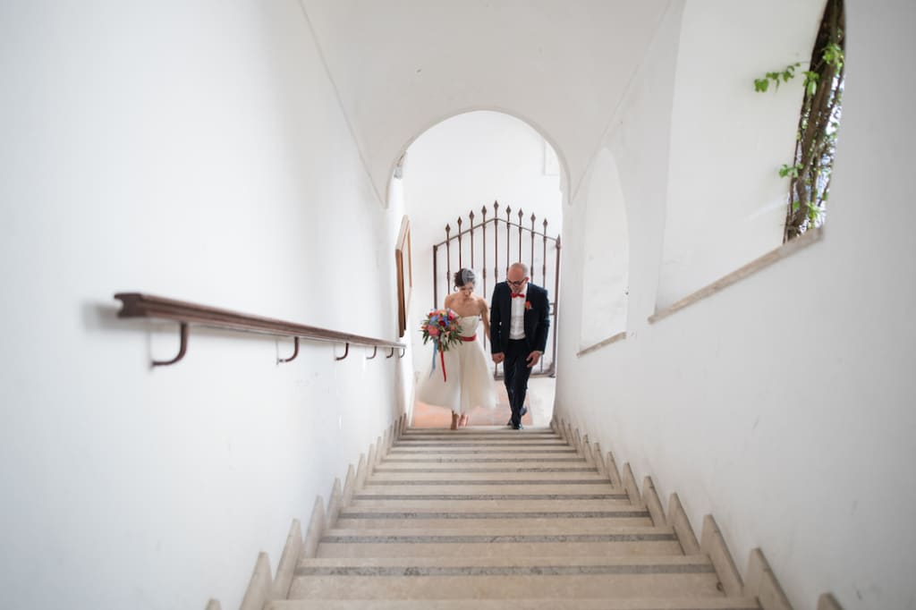 Intimate & Colorful wedding in Capri - Alessandra & Luca