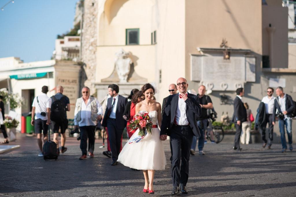 Un matrimonio colorato a Capri - Alessandra & Luca