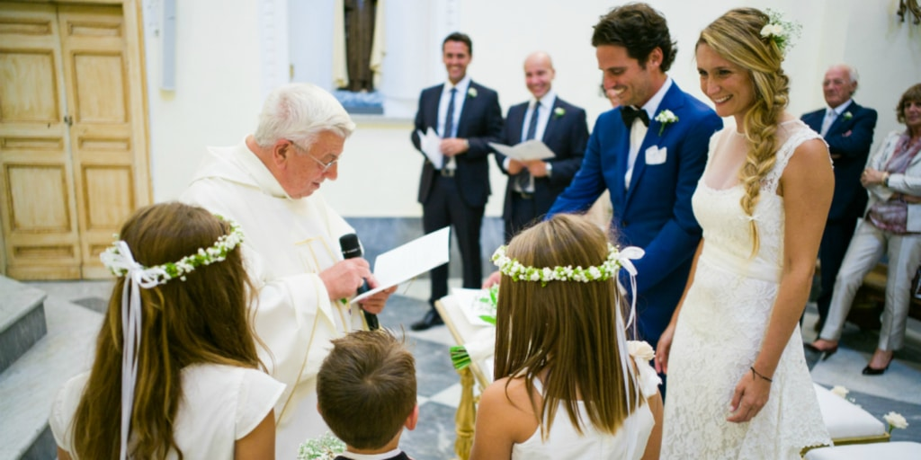 Get married on the island of Capri with a catholic wedding ceremony