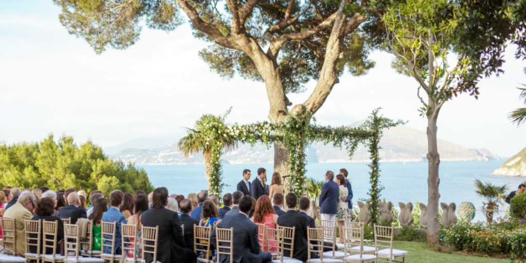 Jewish Wedding Ceremony in Capri