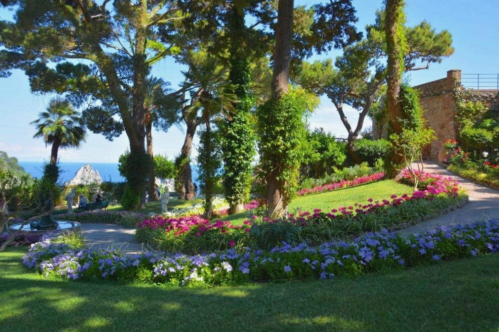 Augustus Garden in Capri