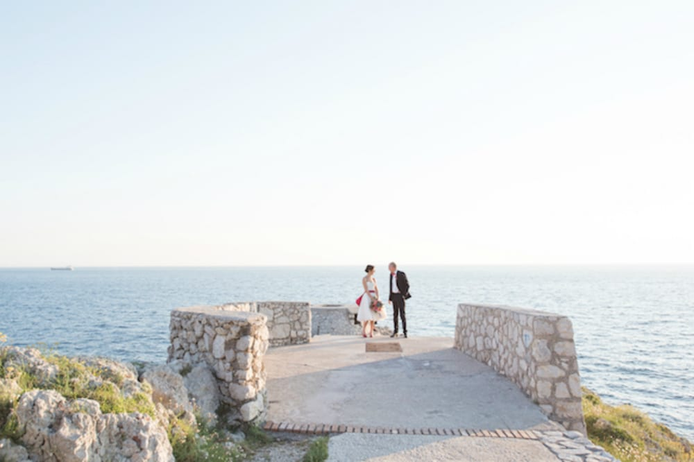 Fortino del Faro where it is possible to get married in Capri island