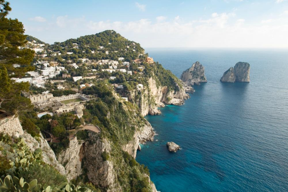 Punta Cannone in Capri