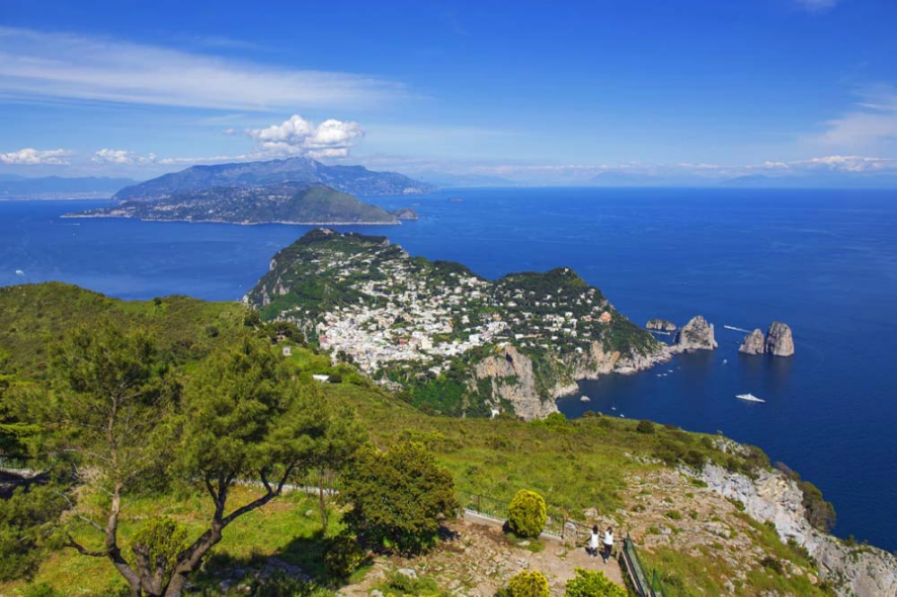 Solaro Mount island of Capri