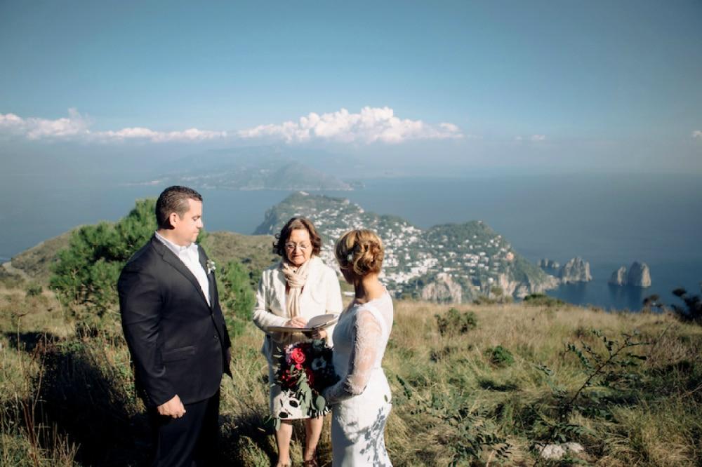 SOLARO MOUNT VENUE FOR YOUR CAPRI WEDDING