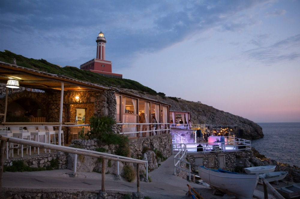 LIGHTHOUSE VENUE FOR YOUR CAPRI WEDDING