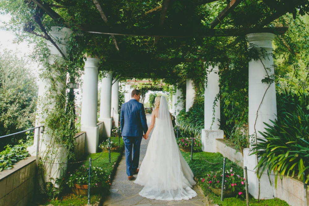 VILLA AXEL MUNTHE VENUE FOR YOUR CAPRI WEDDING