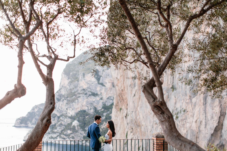 AUGUSTUS GARDENS VENUE FOR YOUR CAPRI WEDDING