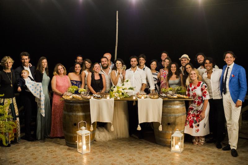 A lemon-themed intimate wedding in Capri
