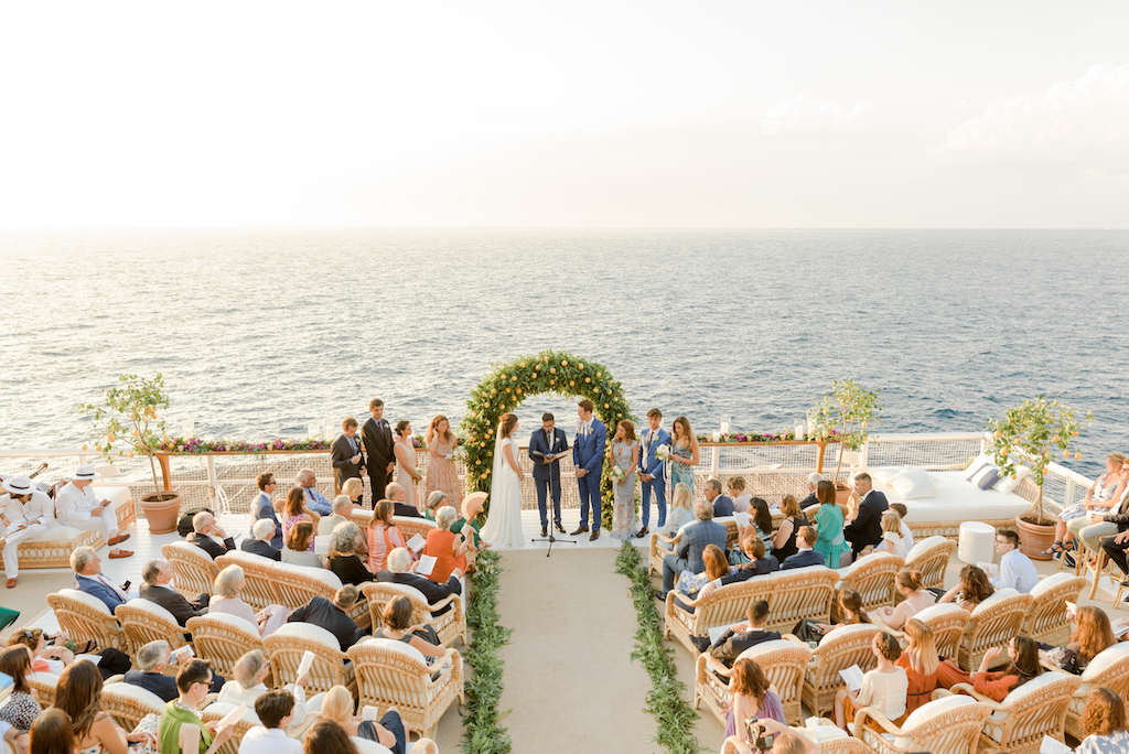 organize your wedding on capri island