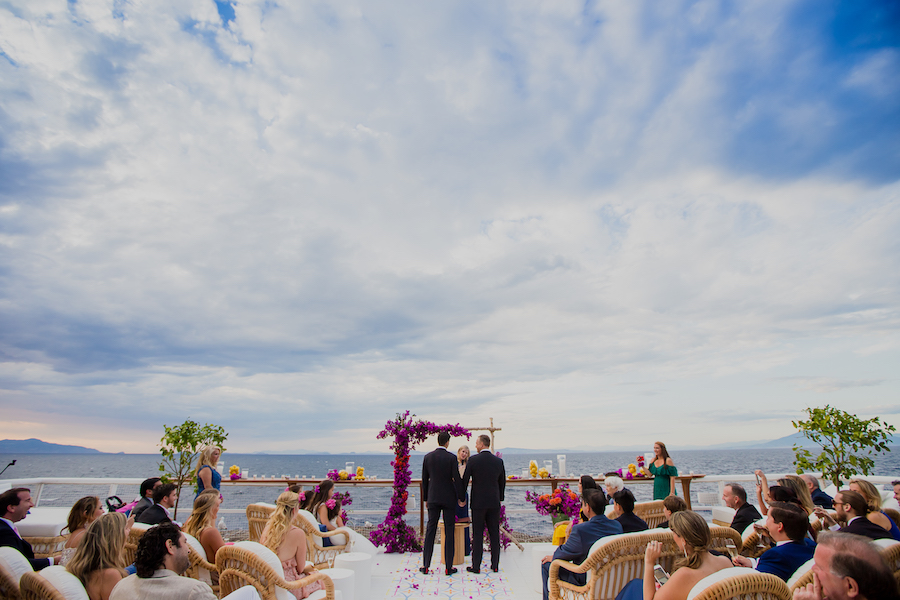 A magical and welcoming destination wedding in Capri
