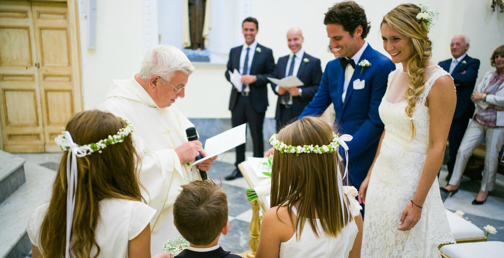 CATHOLIC WEDDING IN CAPRI