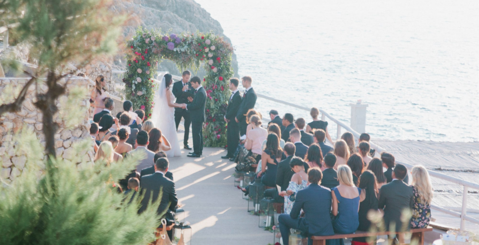 SYMBOLIC WEDDING IN CAPRI